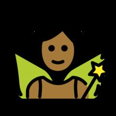 fairy-openmoji_medium-dark-skin-tone_1f9da-1f3fe_1f3fe